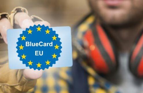 کارت آبی اتحادیه اروپا Blue Card